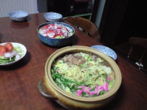 こんなに違う味を楽しめた鍋も初めてです。